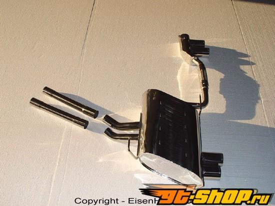 Eisenmann задний Muffler выхлоп Quad Tip BMW E85-E86 Z4 Si Aero бампер 03-06