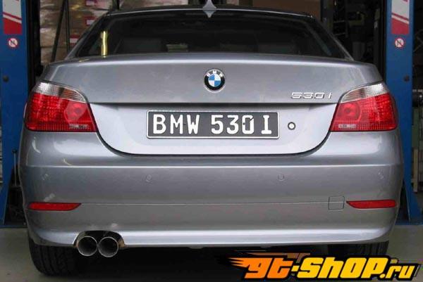 Eisenmann нержавеющий Axleback выхлоп 2x76mm Round Tips BMW 520d E60/61 04-10