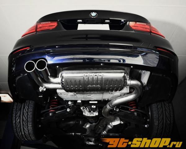 Eisenmann нержавеющий Axleback выхлоп 2x90mm Round Tips BMW 328i седан 12-13