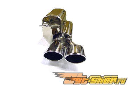 Eisenmann задний Muffler выхлоп Dual Oval Tip Mercedes SLK200 R170 97-04