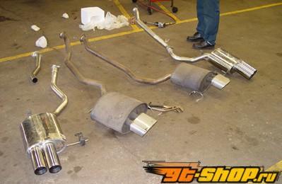 Eisenmann задний Muffler выхлоп Quad Tip BMW E53 X5 3.0L & 4.4L 99-04