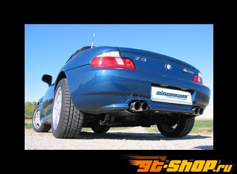 Eisenmann задний Muffler выхлоп Quad Tip BMW Z3 2.0L-2.8L 00-02