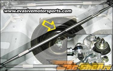 EMRACING Triangulated багажник Bar - Honda Civic Honda Civic Хэтчбек 92-95