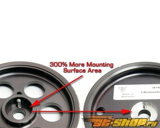 EVOMS Lightweight Crank легкий шкиф для Porsche 997 GT3 GT3RS 3.6L 06-08