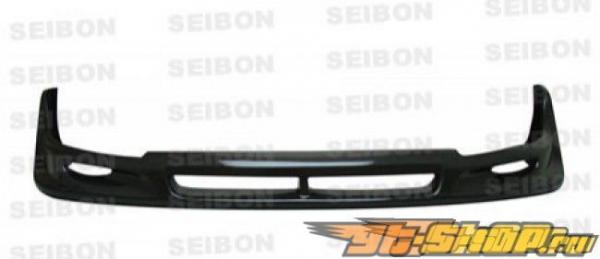 Губа на передний бампер для Subaru Impreza WRX STi 06-07 CW Карбон Seibon
