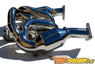 Fabspeed Sport Headers with Sport Cats Porsche 986 Boxster 00-04