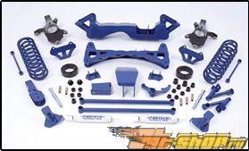 Fabtech 6in System Standard Shocks Chevrolet Silverado 1500 4WD 00-06
