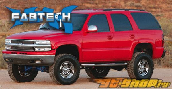 Fabtech 6in System Auto Ride Chevrolet Avalanche 4WD 00-06