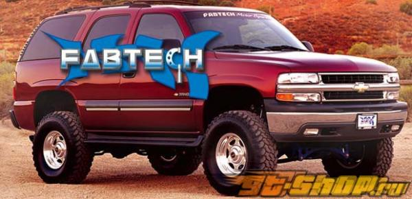 Fabtech 6in Crossmember System Auto Ride GMC Yukon 2WD 00-06