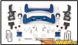 Fabtech 6in Basic Crossmember System Ford F-150 2WD 04-08