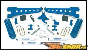 Fabtech 8in Radius Arm System 4.0 Coilover  Конверсия Dirt Logic Shocks Ford F-350 Super Duty 05-07
