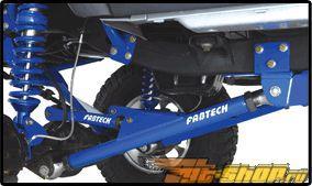 Fabtech 6in Crawler System with передний  and задний Coil Springs Jeep Wrangler TJ 03-06