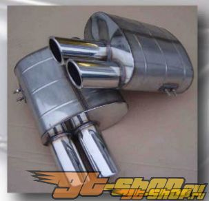 Quicksilver Sports задний Silencers Ferrari 456 94-03