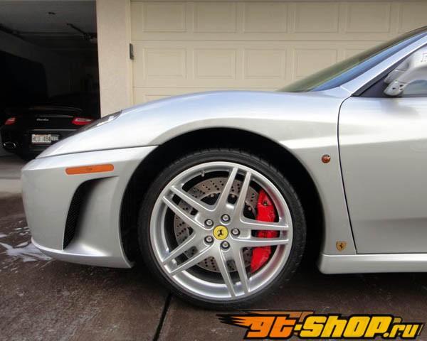 Brembo GT 15 Inch 6 поршневые 2pc передний  тормозной комплект Ferrari F430 w/CCM Brakes 05-09