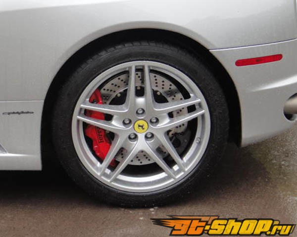 Brembo GT 15 Inch 6 поршневые 2pc задний тормозной комплект Ferrari F430 05-09