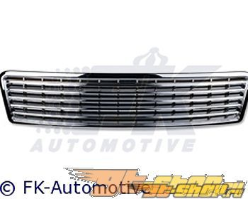 Хромированная решётка радитора FK Auto Sport на Audi A8 99-02