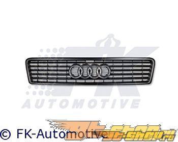 Решётка радитора FK Auto Чёрный|Хром Sport на Audi A8 99-02