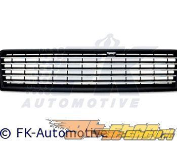 Решётка радитора FK Auto Чёрный|Хром Sport для Audi A6 02-04