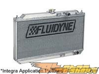 Fluidyne Radiator - Honda Prelude 97-99 (includes 11 fan)