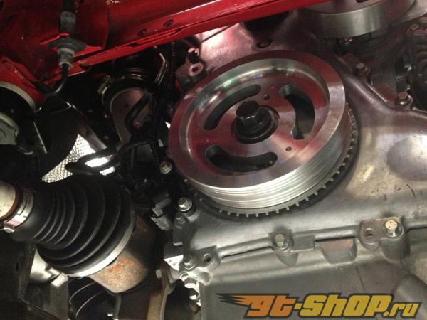 Agency Power Lightweight Crank легкий шкиф для with Water Pump легкий шкиф для комплект Ford Focus ST 13-14