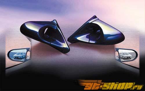 Карбоновые зеркала с синей линзой Ganador Super для Lexus IS300 Altezza 98-04
