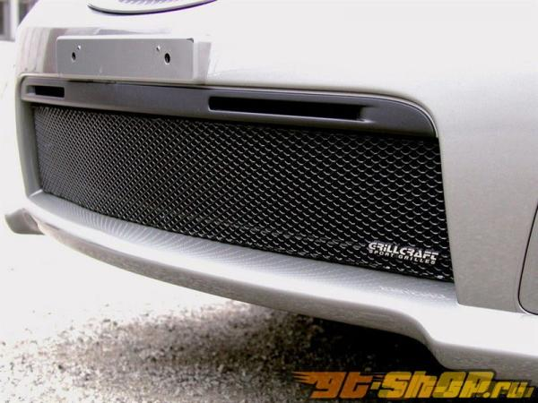 Вставки в нижнюю решётку радиатора Grillcraft MX Series на Subaru WRX STI 06-07