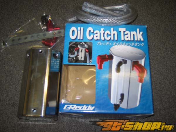 Greddy Super Light Oval Oil Catch Tank 15mm универсальный