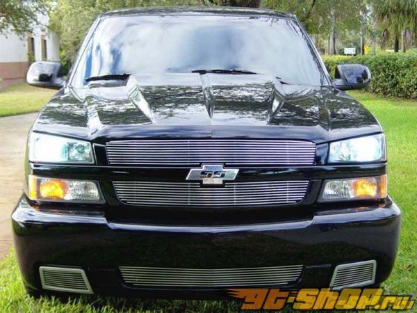 Решётка на передний бампер Grillcraft BG Series для Chevrolet Silverado 1500 03-07