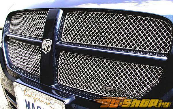 Вставки в нижнюю решётку радиатора Grillcraft SW Series на Dodge Magnum 05-07