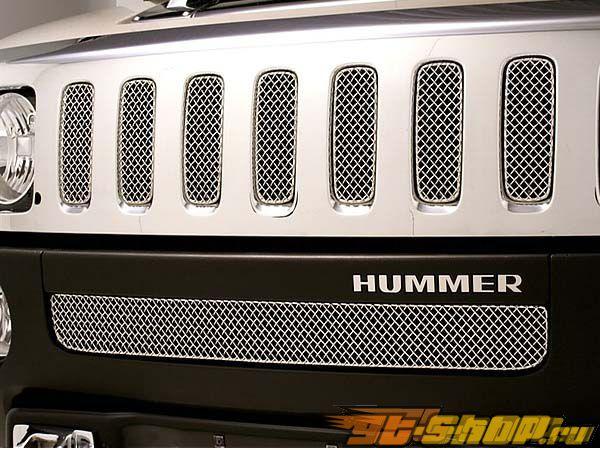 Вставки в нижнюю решётку радиатора Grillcraft SW Series для Hummer H3 06-08