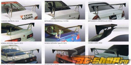 Алюминиевый спойлер Cusco GT на Subaru Impreza GDA