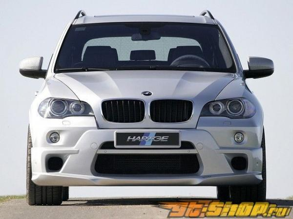 Накладка на передний бампер Hartge на BMW E70 X5 07+
