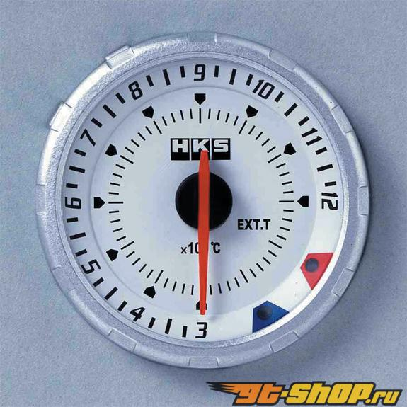 HKS Chrono DB температуры выхлопа Meter 60mm Electronic Белый