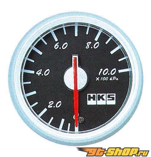 HKS DB Pressure Meter 60mm Mechanical Чёрный