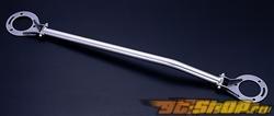 JIC Magic Oval передний  Aluminum Strut Tower Bar Lancer EVO 8/9