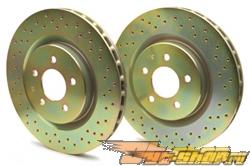 Brembo передний  Sport тормозной тормозные диски (Drilled) Mitsubishi Eclipse 2G 95-99