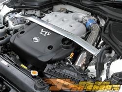 JIC MAGIC Oval передний  Aluminum/Карбоновый Shaft Strut Tower Bar Nissan 350Z