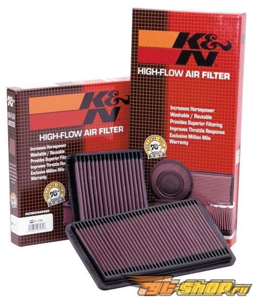 K&N Lifetime, Washable, Direct Replacement Air Filter Element Mazda Protege 5
