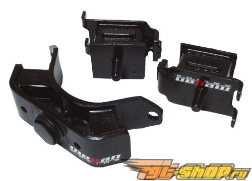 Megan Racing AE86 Corolla Engine Mount 3 pcs Hard Rubber