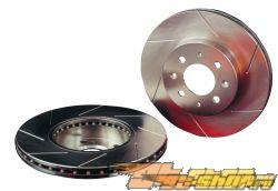 PowerSlot Cryo Treated задний Slotted тормозной тормозные диски Subaru Impreza WRX / STi