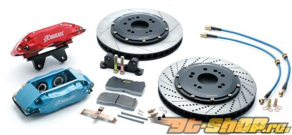 Rotora задний 2 & 4 поршневые BBK Большой тормозной Kits Acura TL