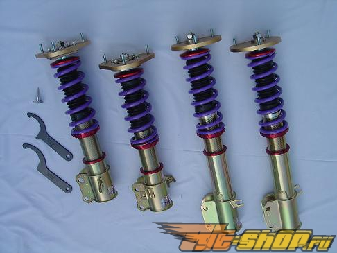 JIC MAGIC FLT-TAR Inverted MonoTube 15-Way Adjustable Coilover System Subaru Impreza WRX / STi / RS
