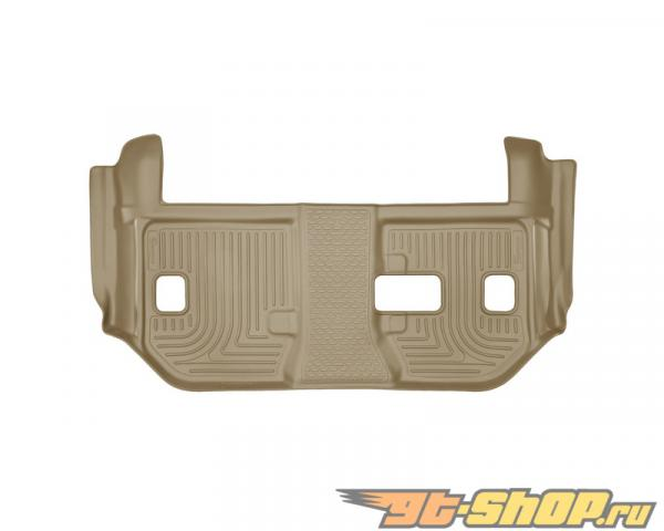 Husky Liners 3rd Сидения Floor Liner | Weatherbeater Series Tan Cadillac Escalade Esv 2nd Row Bench Seats 2015