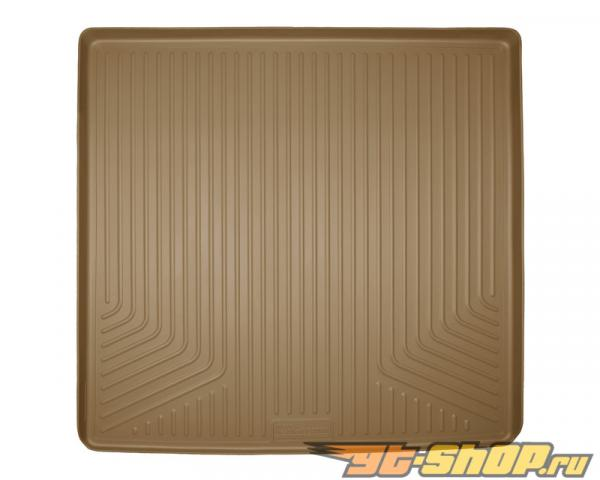 Husky Liners Cargo Liner | Weatherbeater Series Tan Cadillac Escalade 2015