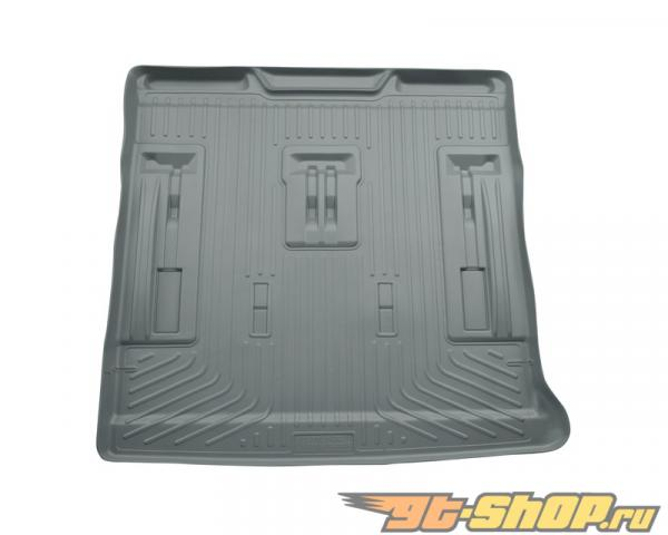 Husky Liners Cargo Liner | Weatherbeater Series Grey Cadillac Escalade Base 09-14