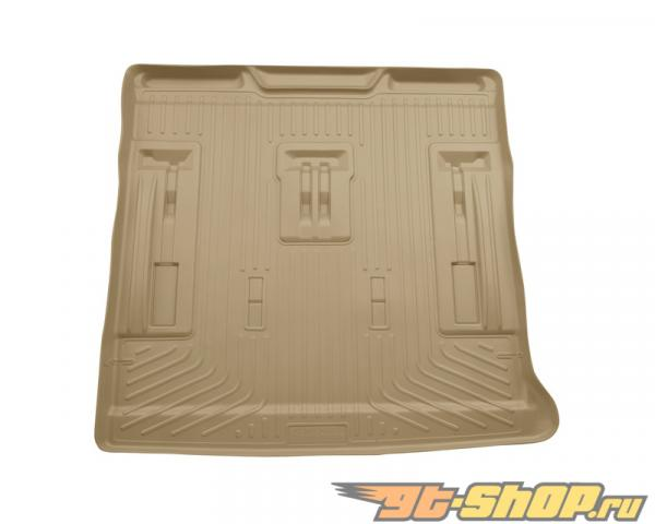 Husky Liners Cargo Liner | Weatherbeater Series Tan Cadillac Escalade 07-14