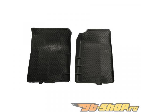 Husky Liners передний  Floor Liners | Classic Стиль Series Чёрный GMC C2500 Standard Cab Pickup 88-00