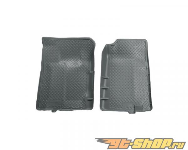 Husky Liners передний  Floor Liners | Classic Стиль Series Grey GMC C2500 Extended Cab Pickup 88-00