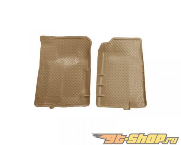 Husky Liners передний  Floor Liners | Classic Стиль Series Tan GMC C2500 Standard Cab Pickup 88-00