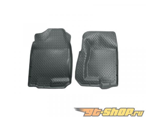 Husky Liners передний  Floor Liners | Classic Стиль Series Grey Cadillac Escalade 02-06